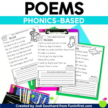 Phonics Based Poems
