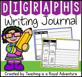 Phonics-Based Writing Journal: Digraphs