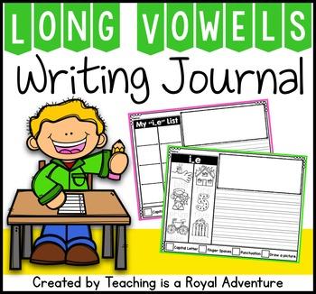 Phonics-Based Writing Journal: Long Vowels