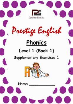 Phonics Book – Level 1 (Book 1) – Supplementary Exercises