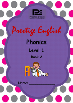 Phonics Book – Level 1 Book 2 ( Jolly Phonics / Letterland