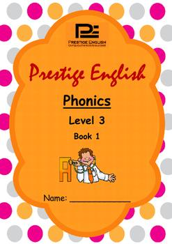 Phonics Book – Level 3 Book 1 ( Jolly Phonics / Letterland