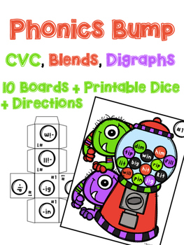 Phonics Bump: Monster Theme