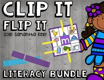 Phonics Clip and Flip Clip and Flip Station