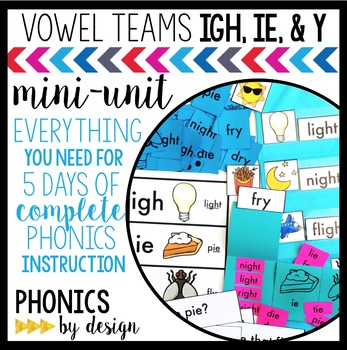 Phonics By Design IGH, IE, & Y Mini-Unit