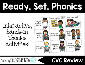 Short Vowels CVC Mixed CVC Interactive Activities (First G