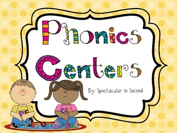 Phonics Center Games