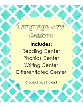Lanuage Arts Centers (No Prep)