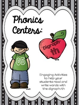 Phonics Centers: Digraph TH