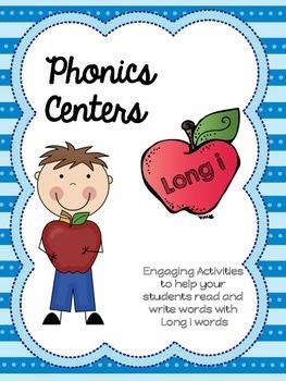Long I Word Work - Phonics/ Centers