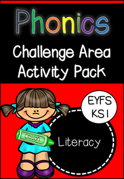 Phonics Challenge Area Activity Pack