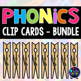 Phonics Clip Cards Growing Bundle