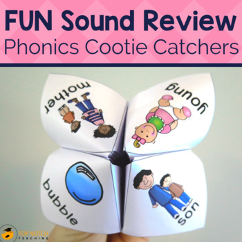 Phonics Cootie Catchers