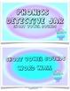 Phonics Detective Task Cards 2 Short Vowel Sounds