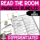 Phonics Differentiated Read the Room BUNDLE