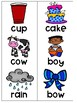 Phonics FREEZE Compound Words Game