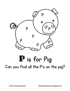 Phonics Farm: P is for Pig