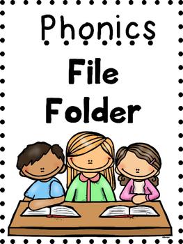 Phonics File Folder