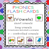 Phonics Flash Cards (Vowels)