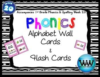Phonics Flash Cards (Week 20)