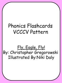 Phonics Flashcards VCCCV Pattern Fly, Eagle, Fly! Reading
