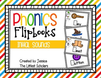 Phonics Flipbooks [Initial Sounds]