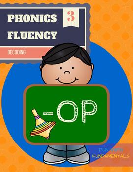Phonics Fluency- '-OP' Word Family