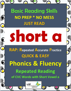 Phonics & Fluency Practice RAP Short a: Repeated Reading o