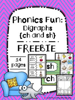 Phonics Fun: Digraphs {ch and sh} FREEBIE
