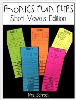 Phonics Fun Flips Short Vowels