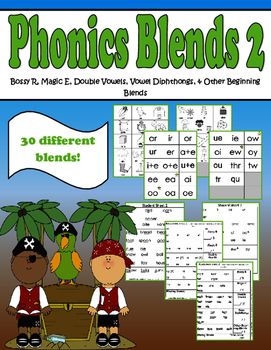 Phonics Group 2- Bossy R, Magic E, Vowel Diphthongs, Doubl