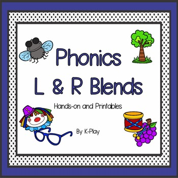 Beginning Blends L and R Games and Activities