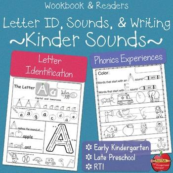Write Now: Beginning Kinder Sounds -Worksheets