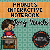 Phonics Interactive Notebook: Long Vowels