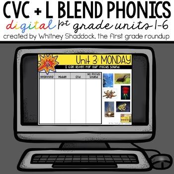 Phonics Interactive Powerpoint: Units 1-6 (short vowels an