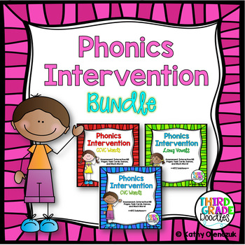 Phonics Intervention -- MEGA BUNDLE