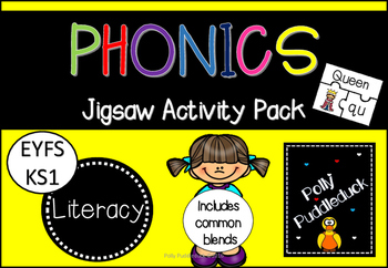 Phonics Jigsaw Activity Pack