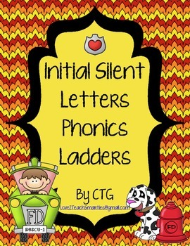 Phonics Ladders - Initial Silent Letters