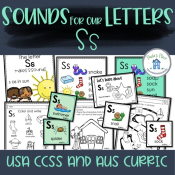 Phonics - Let's Look at the Letter and Sounds for  'Ss'