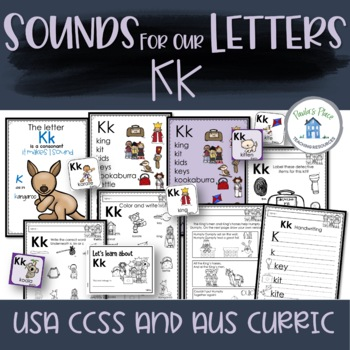 Phonics - Let's Look at the Letter and Sounds for  'Kk'