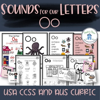 Phonics - Let's Look at the Letter and Sounds for  'Oo'