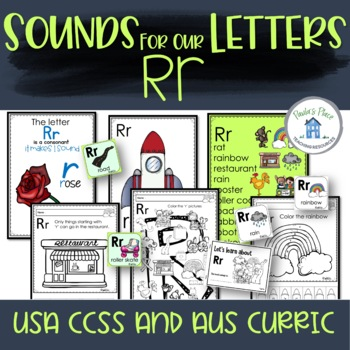 Phonics - Let's Look at the Letter and Sounds for  'Rr'