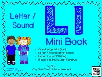 Phonics / Letter L Mini Book Craft