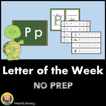 Letter of the Week P NO PREP