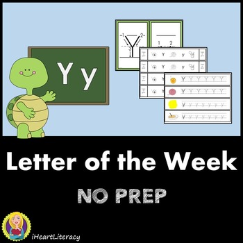 Letter of the Week Y NO PREP