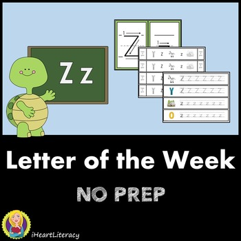 Letter of the Week Z NO PREP