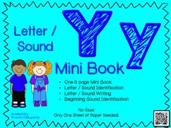 Phonics / Letter Y Mini Book Craft