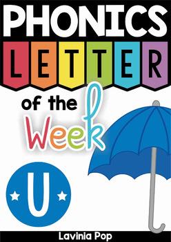 Phonics Letter of the Week U