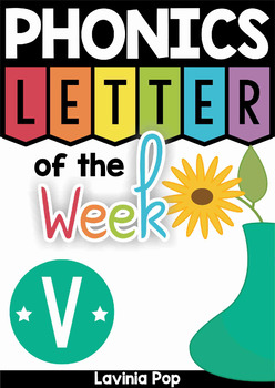 Phonics Letter of the Week V