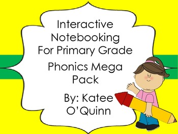 Phonics Notebooking in the Primary Grades: Mega Pack